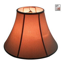 Home Concept - Bell Lampshade - Premium Light Oatmeal Linen - Home Concept Signature Shades feature the finest premium linen fabric. Durable Upholstery-Quality fabric means your new lampshade will last for decades. Our fabric is over 100% thicker than traditional shade fabric. It wont get brittle from smoke or sunlight like less expensive fabrics.