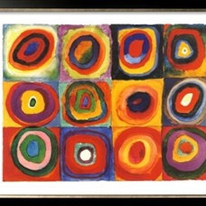 Farbstudie Quadrate, c.1913 Print by Wassily Kandinsky at Art.com