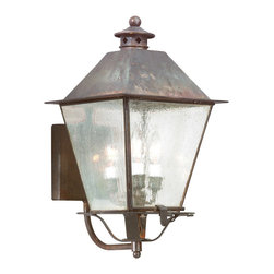 Troy Lighting - Troy Lighting BCD9134CI Montgomery Charred Iron Outdoor Wall Sconce - Troy Lighting BCD9134CI Montgomery Charred Iron Outdoor Wall Sconce