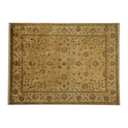 1800-Get-A-Rug - Thick and Plush Rajasthan Wool and Silk Hand Knotted Oriental Rug Sh19264 - Thick and Plush Rajasthan Wool and Silk Hand Knotted Oriental Rug Sh19264