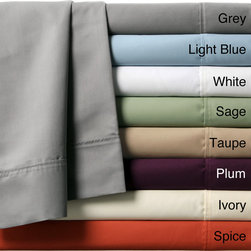 None - Luxury Manor 800 Thread Count Cotton Rich 6-Piece Sheet Set - Sleep in comfort with the Luxury Manor sheet set constructed of 800 thread count cotton. These machine washable sheets are available in a variety of colors that will surely complement your current decor.