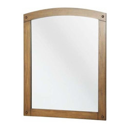 Foremost - Foremost Avondale 24 Inch Mirror in Weathered Pine Finish - Foremost Avondale 24 Inch Mirror in Weathered Pine Finish