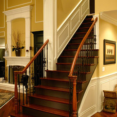 Traditional Staircase by Donatelli Builders, Inc