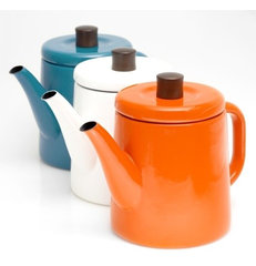 modern coffee makers and tea kettles by Poketo