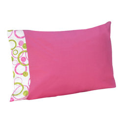 Sweet Jojo Designs - Pink Circles Sheet Set Twin (3Pc.) - The Pink Circles Sheet Set is the perfect accessory for your Sweet Jojo Designs Bedding Set. This set is made of 100% cotton and is machine washable for easy care.
