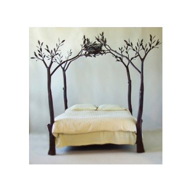 Modern Canopy Bed - Sustainable Canopy Bed.