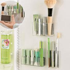 Contemporary Bathroom Storage by Design Solutions