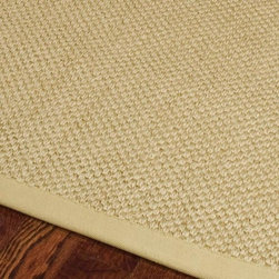 Safavieh - Safavieh Hand-woven Resorts Natural/ Beige Fine Sisal Rug (6' Square) - Accent the d�cor in any room without changing your color scheme with this natural/beige sisal area rug from Resorts. This contemporary rug is hand-woven from organic sisal that contributes to a genuine weave pattern and finished borders.