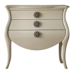 Hooker Furniture - Hooker Furniture Melange Pippa Bombe Chest - Hooker Furniture - Accent Chests - 63885079 - Come closer to Melange and you will discover something unexpected an eclectic blending of colors textures and materials in a vibrant collection of one-of-a-kind artistic pieces.