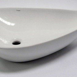 EAGO - Eago Tear Drop Above Mount White Ceramic Bathroom Sink - BA138 - Shop for Bathroom from Hayneedle.com! About EagoEago is a company dedicated to the idea that the things that fill your home needn't be mundane. By applying an incredible level of detail and craftsmanship to well-designed porcelain products Eago elevates the modern bathroom while staying true to classic principles. Sinks tubs showers are all crafted in a way that elevates the modern bathroom like no other.