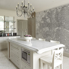 contemporary wallpaper by Majesty Maps & Prints