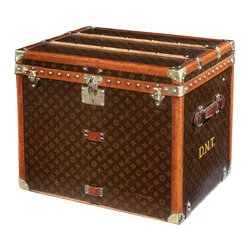 Louis Vuitton Cube Trunk - An equestrian household wouldn't be complete without a vintage trunk, and this one would be especially amazing!
