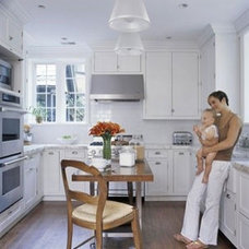 Kitchen and Dining Ideas / another white kitchen