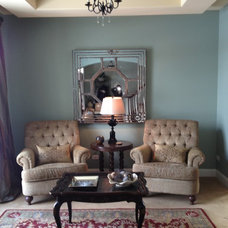 Traditional Living Room by Jamie Crose/Jamie Designs