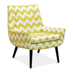 Jonathan Adler Mrs Godfrey Chair in Limitless Linden