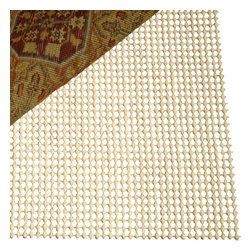 Safavieh - Padding Assorted Area Rug PAD110 - 10' x 14' - Grid Pad is made from polyester fabric coated with a high grade vinyl compound allows maximum air circulation through an open weave construction making vacuuming easy. It helps keep tapestries and rugs safe from accidental slipping. It can be easily cleaned by hand-washing in a mild detergent, rinsed, and laid flat to dry. Grid pad is anti microbial to inhibit the growth of odor-causing bacteria, mold and mildew and is fire-retardant and moth-proofed and can be custom cut to fit any rug size.