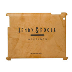 Classy Rustic Dante Orange Interior Designer iPad Case Business Branding - Corbin Henry