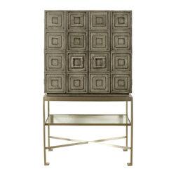 Vanguard Furniture - Vanguard Furniture Knickerboker Bar Cabinet W717BC-LG - Vanguard Furniture Knickerboker Bar Cabinet W717BC-LG