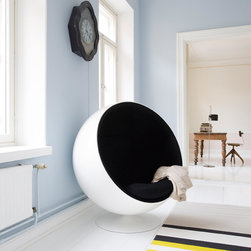 Ball Chair, Black -