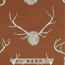 Eclectic Upholstery Fabric CR Laine Antlers Fabric