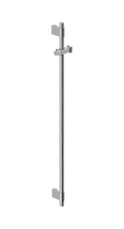 "Grohe - Grohe 28819EN1 Brushed Nickel Accessories Slide Bar 36"" Adjustable - 36"" Slide Bar  Adjustable height, swivel hand shower holder  Variable fixing point mounting brackets for easy retrofit and corner mounting  Multiple-function mounting brackets also serve as a hose guide  Optional Universal"