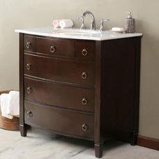 """35"""" Virtu Venice LS-1041 : bathroom vanity :: Virtu Vanities :: Vanities by Bran"""