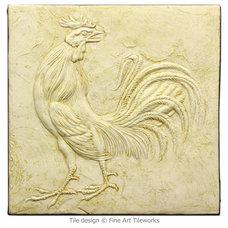 Traditional Tile by Fine Art Tileworks — Handmade Relief Tile