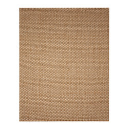 Anji Jute Kilimanjaro Rug - 9' x 12' - Your home will come alive with the natural elegance emanating from our Kilimanjaro rug. The intricate basket weave of natural fibers is stunning to look at up close but subtle enough to fit into any room décor. Jute is an incredibly versatile and plentiful natural fiber whose long, soft fibers are artfully woven into beautiful organic rugs. Available sizes: 2.5' x 8', 4' x 6', 5' x 8', 8' x 10' and 9' x 12'.