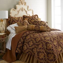 Austin Horn Collection Viola Royale Bedding -