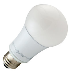 TCP - TCP LED10A19D41K - 10W 120V A19 LED, Cool White, Non-Dimmable - TCP LED10A19D41K Non Dimmable This bulb is rated for enclosed fixtures but may be used in table lamps, floor lamps, ceiling fixtures and wall sconces.
