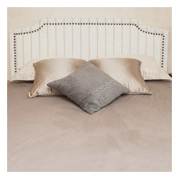 Great Deal Furniture - Forde Queen Size Bed Headboard - The Forde headboard is a great piece to add elegance to your bedroom. You can spruce up the look of any queen metal frame bed with this headboard.