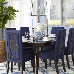 Allerton Dining Table & Nantucket Dining Chair -