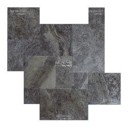 Travertine Paver - Silver paver - STONETILEUS - Order free sample