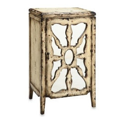 E & E Co., Ltd. - Antiqued Mirrored Accent Chest - You'll fall in love with this mirrored chest almost as if you found it sitting in an old antique shop out in the countryside.