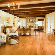 Reclaimed Smooth Heart Pine Flooring - Mountain Lumber