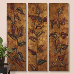 "32156 Climbing Vine Panels S/3 by uttermost - Get 10% discount on your first order. Coupon code: ""houzz"". Order today."