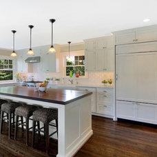 Craftsman Kitchen by Acorn Cabinets