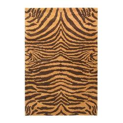 Safavieh Soho SOH434C Brown - Gold Area Rug - Safavieh Soho SOH434C Brown - Gold Area Rug