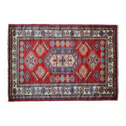1800GetARug - Oriental Rug Tribal Design Fine Kazak Hand Knotted Rug Sh11161 - About Tribal & Geometric