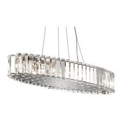 Kichler Lighting - Kichler Lighting 42173CH Crystal Skye Modern / Contemporary Chandelier - Kichler Lighting 42173CH Crystal Skye Modern / Contemporary Chandelier