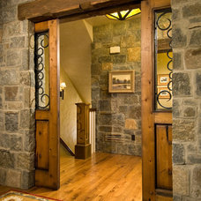 Rustic Entry by Witt Construction