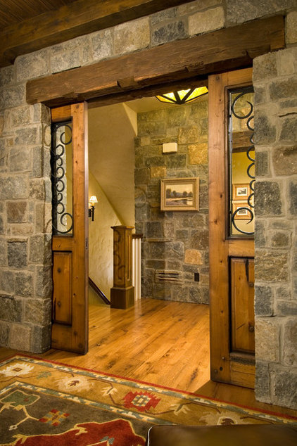 traditional entry by Witt Construction