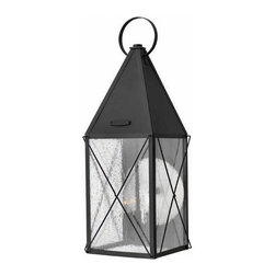 Hinkley Lighting - Hinkley Lighting 1845BK York Black Outdoor Wall Sconce - Hinkley Lighting 1845BK York Black Outdoor Wall Sconce