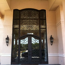 Mediterranean Front Doors by Ultimate Iron Works