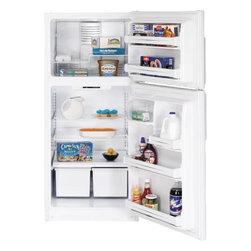 GE - Hotpoint 18.0 Cu. Ft. Top Freezer Refrigerator - Features: