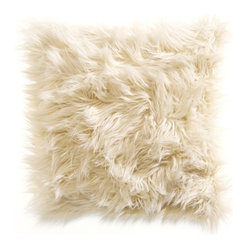 Kenneth Cole Reaction Home Landscape Faux Fur Square Toss Pillow