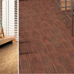 "Teakwood Collection 6"" x 24"" 