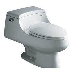 """Ariel - Ariel Royal """"Celeste"""" Contemporary European Toilet 27x20x13 - Ariel cutting-edge designed one-piece toilets with powerful flushing system. It?s a beautiful, modern toilet for your contemporary bathroom remodel. Dimensions: 27 x 20 x 13, UPC Approved, 12"""" Rough in For easy standard installation, High Quality Glaze that resist stains and Microbes, Seat is Included with the Toilet, Fully Glazed Trapway for smoother flushes, Elongated Bowl, Elongated Bowl"""