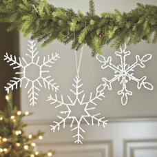 Contemporary Christmas Decorations by Ballard Designs
