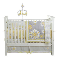 Sweet Sunshine 3-Piece Crib Bedding Set by Bananafish